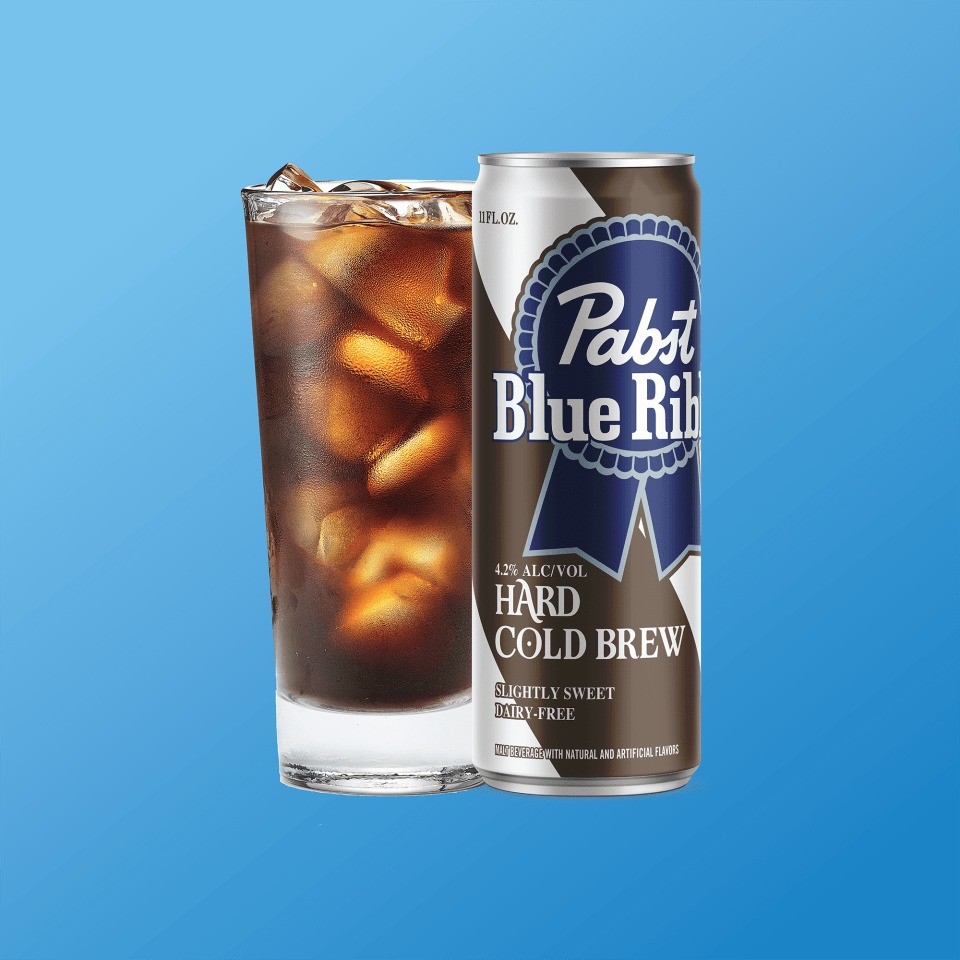 Pabst Blue Ribbon adds Hard Cold Brew to its boozy coffee line