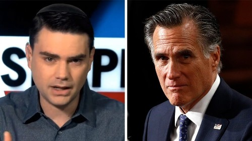 Ben Shapiro: Democrats, media praising Romney 'were declaring him the worst person on earth' in 2012