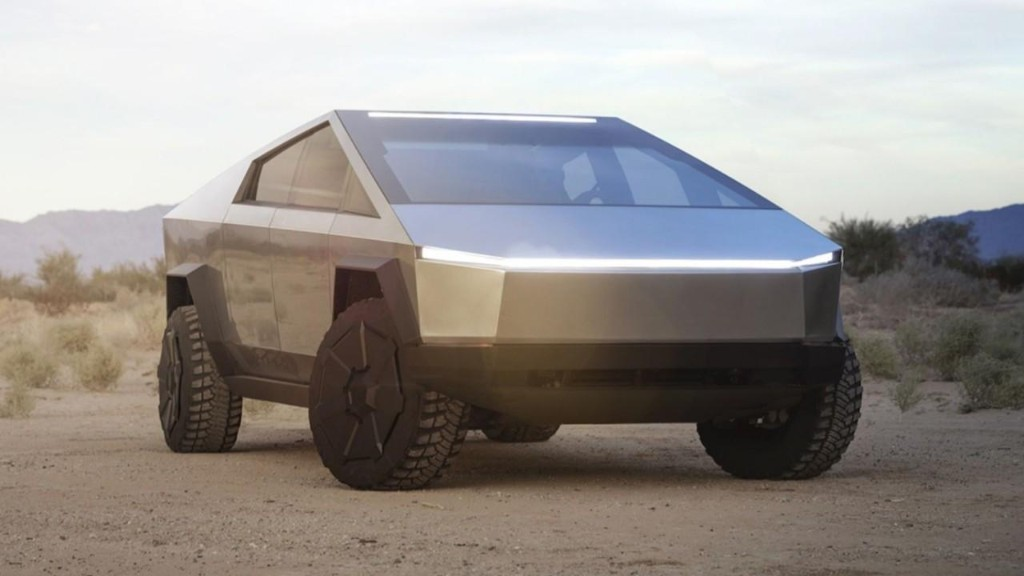 Tesla Cybertruck to be 'painted' with fire?