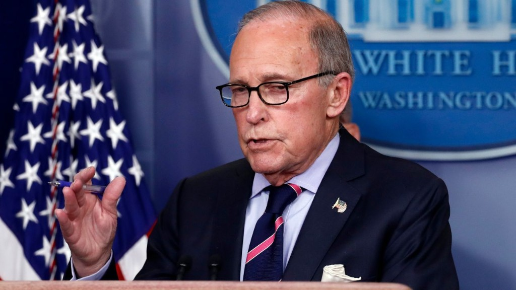Kudlow predicts when 'big snapback' will occur for US economy