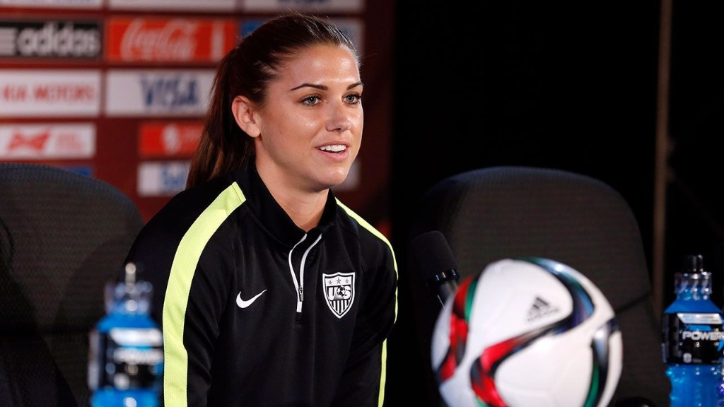 Alex Morgan after Disney World incident: 'I can't imagine what black people go through'