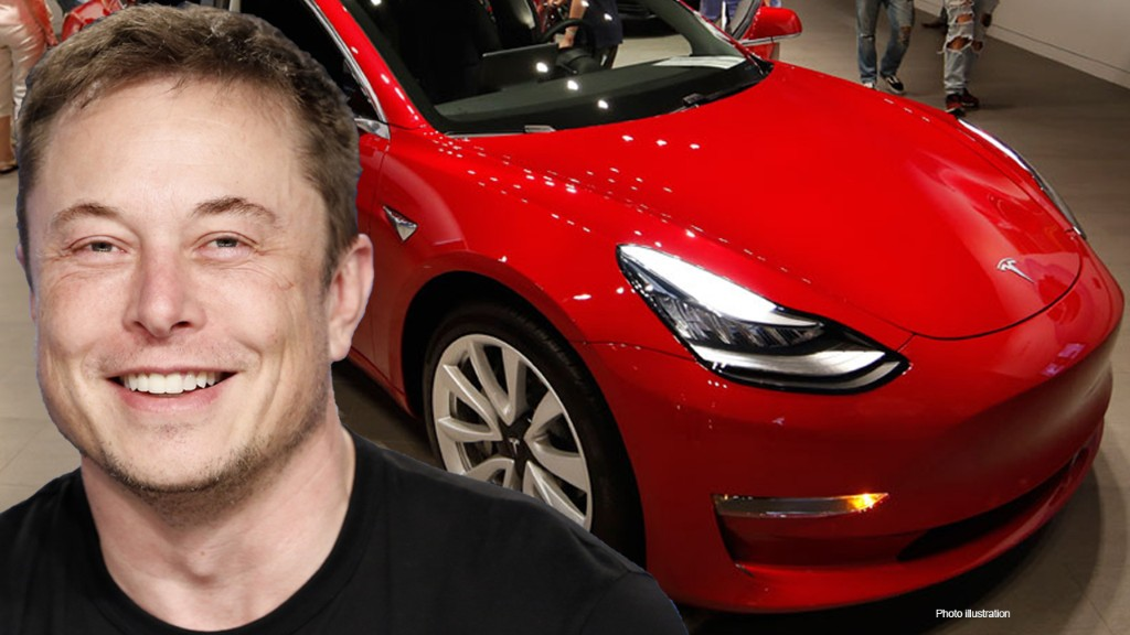 Tesla announces 5-for-1 stock split as share price surges