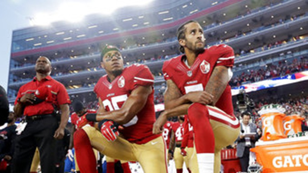 NFL encourages players to 'peacefully protest,' says 'we were wrong' not to listen