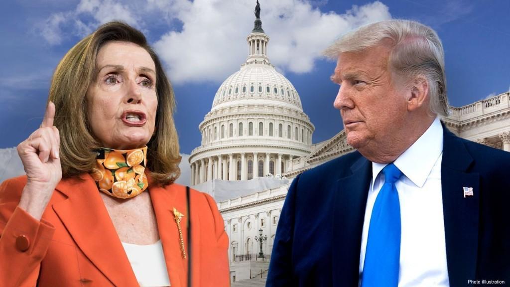 Trump knocks Pelosi, Schumer for 'blue-state bailout' amid coronavirus relief standstill