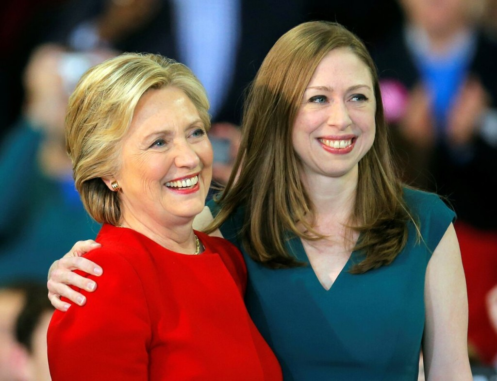 Chelsea Clinton calls for holding up Barrett nomination