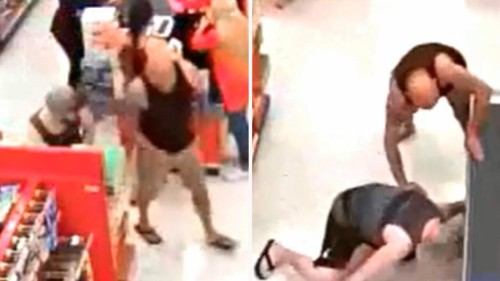 Dad attacks man at California Target after he allegedly snaps upskirt photos of his teen daughter