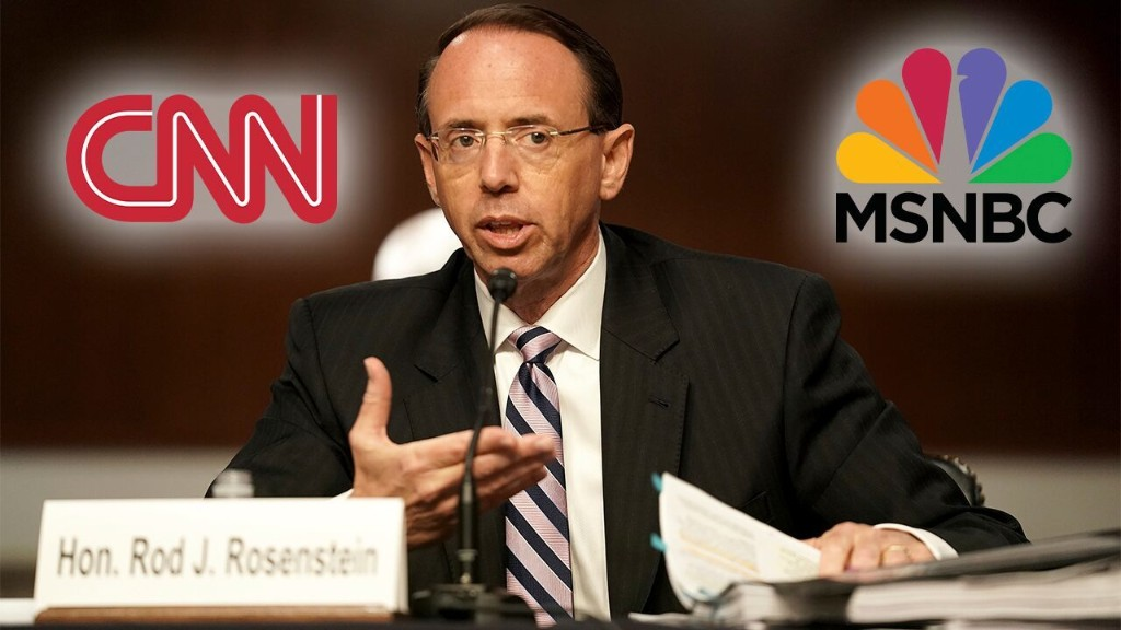 Mainstream media avoids on-air coverage of Rod Rosenstein hearing after years of pushing Russia collusion