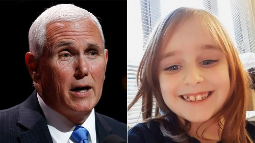 Pence reacts after Faye Marie Swetlik found dead in South Carolina: 'Hug your kids today'