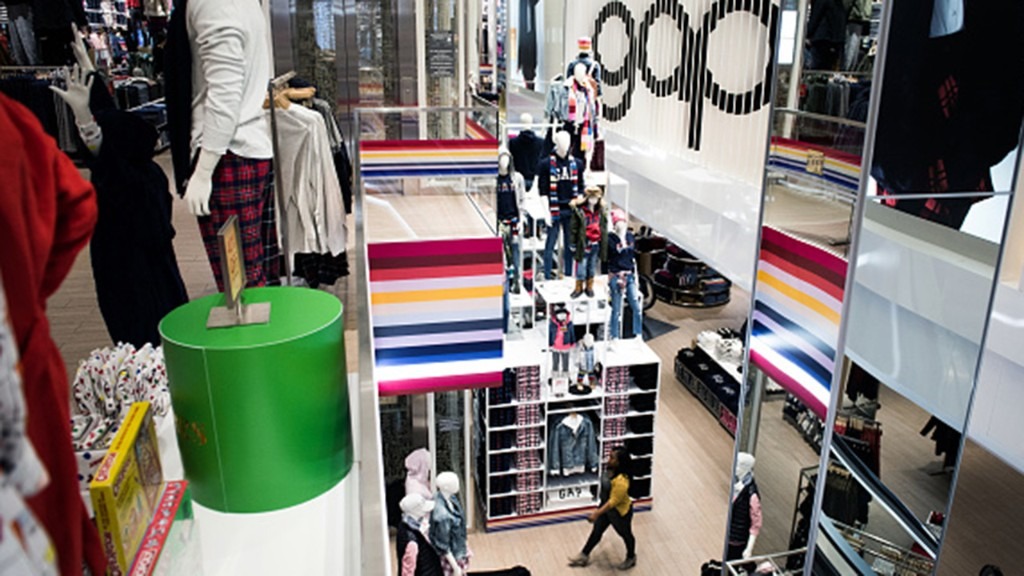 Gap exiting malls, to shutter 350 stores by 2024
