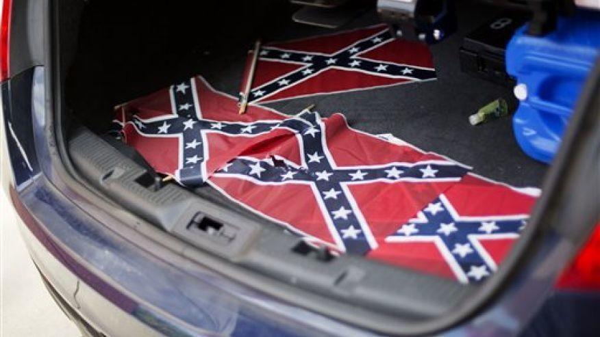 Confederate Flag - Magazine cover
