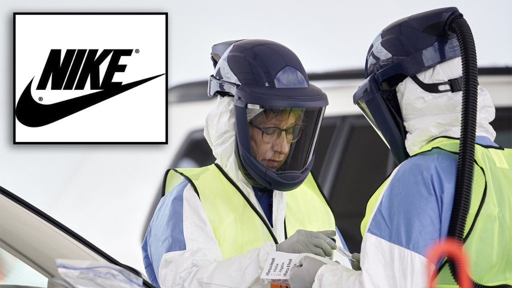 Coronavirus prompts Nike to explore making medical protective gear