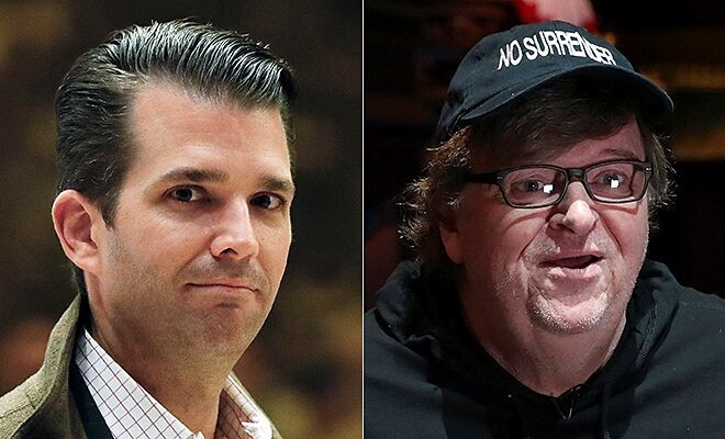 Donald Trump Jr. slams Michael Moore for asking if Mar-a-Lago opened as shelter during Irma