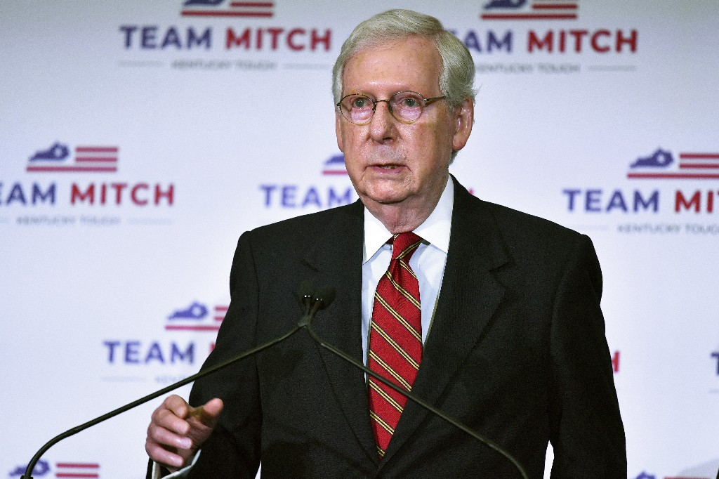 McConnell promises COVID-19 stimulus as he maintains seat