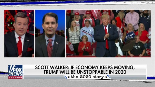 Scott Walker: Trump reversing Obama's stagnant economy will be his key to 2020 victory