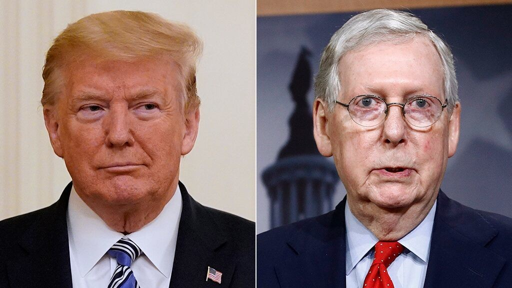 Trump tells McConnell 'time is running out' for him to hold Russia 'hoaxers' accountable