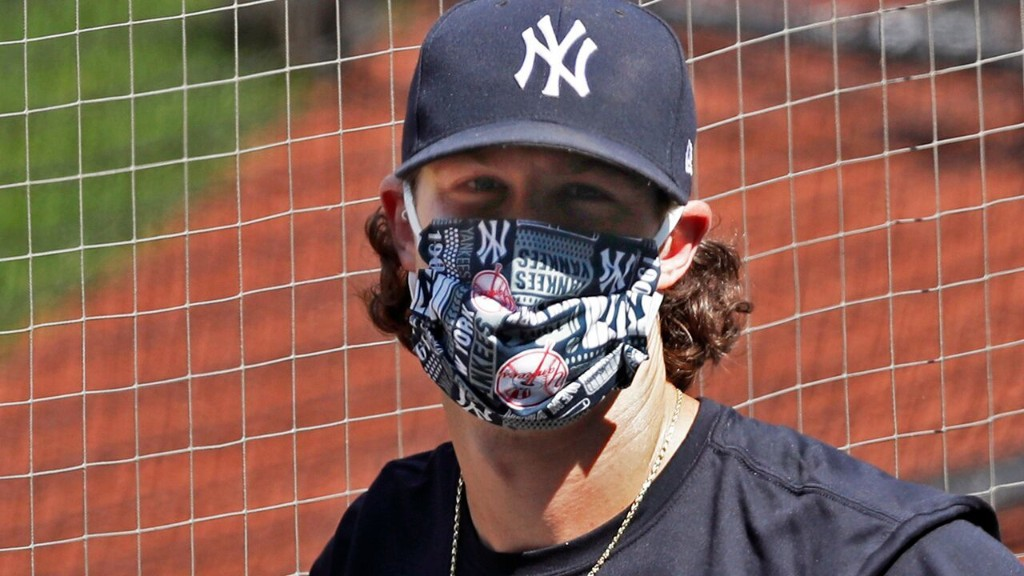 Yanks' Cole learns safety-protocol lesson in 1st intrasquad