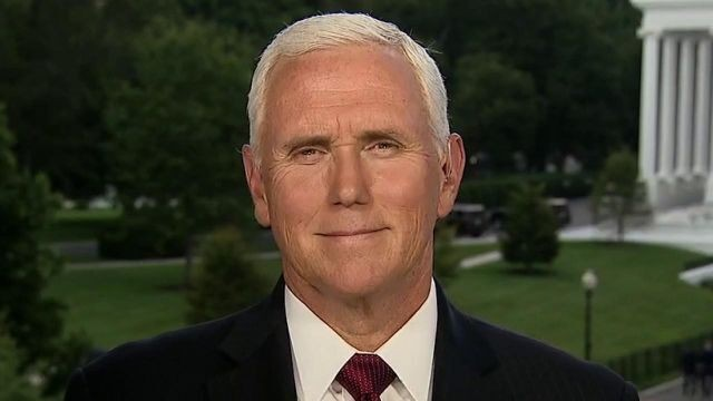 Pence praises Trump's executive action on COVID relief, says Biden wants to reverse gains of past four years