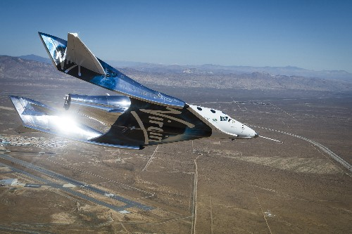 Virgin Galactic's SpaceShipTwo makes 1st test flight of revamped re-entry system