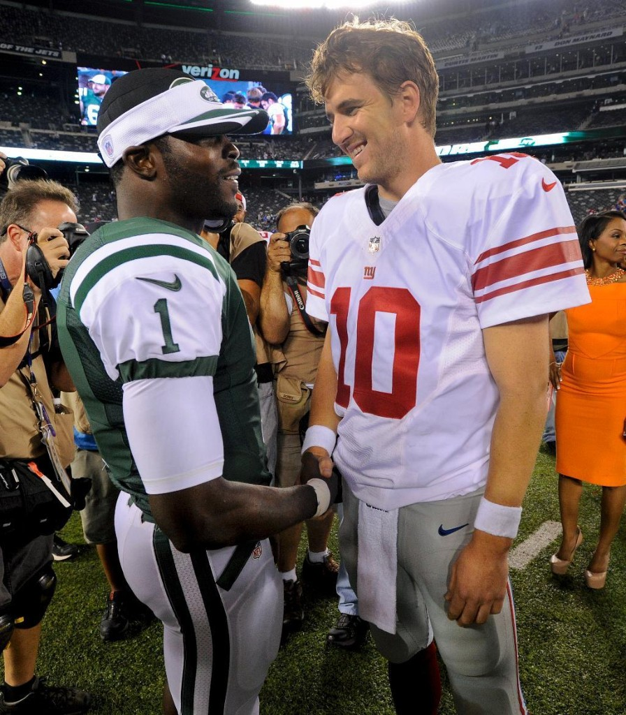 Jets QB Vick says he's 'absolutely' fine with how things ended with Eagles