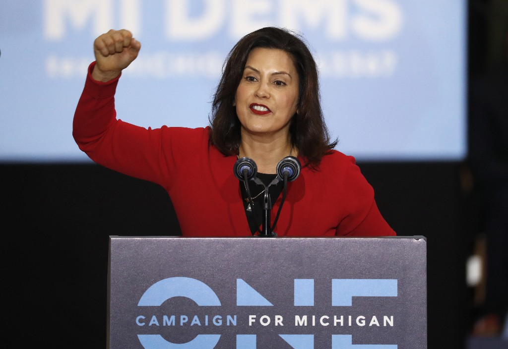 Michigan Gov. Gretchen Whitmer announces arrival of 112,000 N95 masks in state