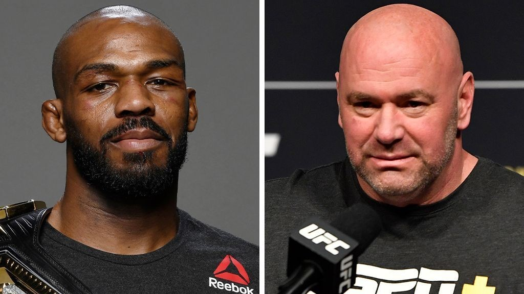 UFC's Jon Jones feuds with Dana White over pay