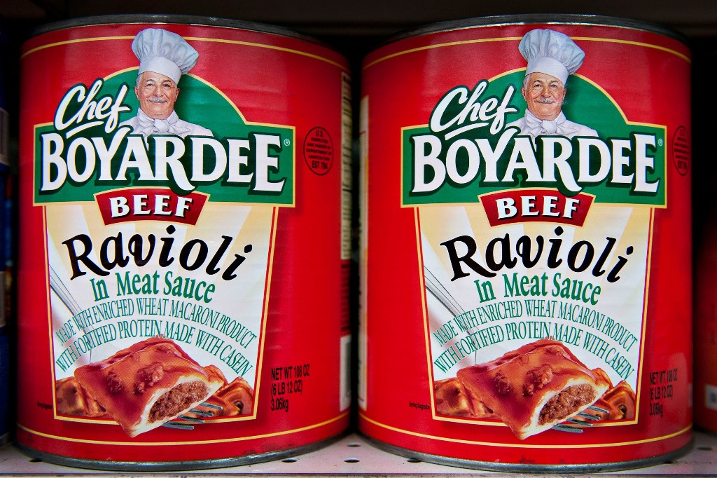 Petition calls for Christopher Columbus statue to be replaced by Chef Boyardee