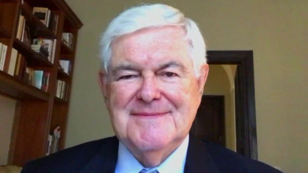 Gingrich calls out Biden: He knows Trump has 'winning message,' so he's stealing it