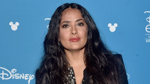 Salma Hayek accidentally posts makeup-free bikini pic with the wrong caption