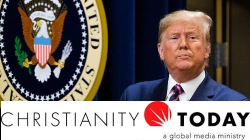 Christianity Today calls for Trump's removal from office following impeachment