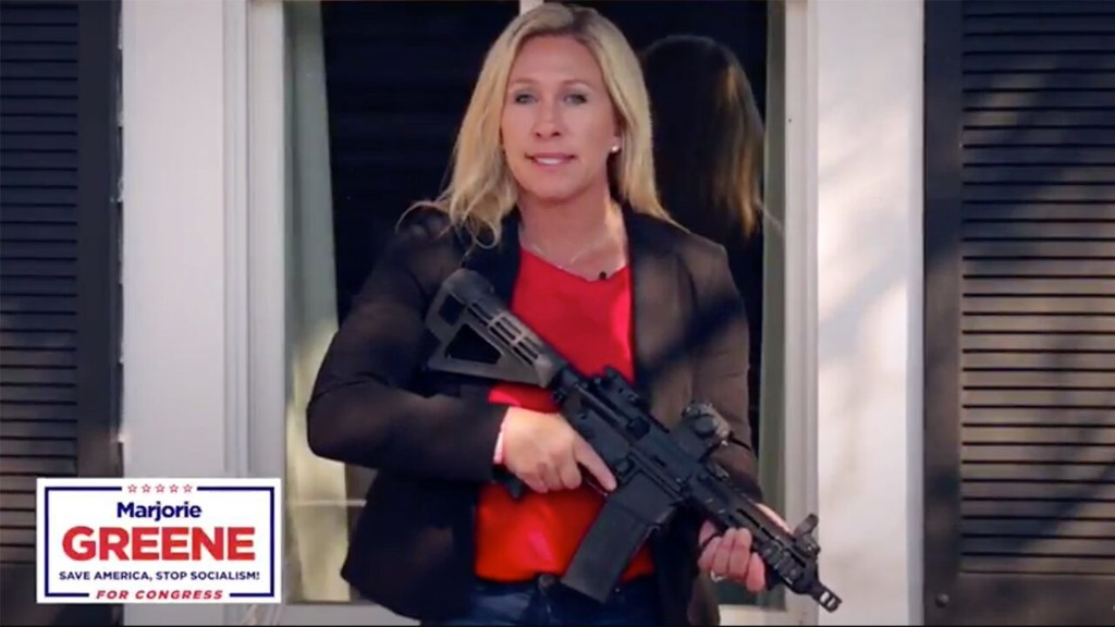 Facebook pulls ad from gun-toting Georgia candidate taking on Antifa: 'Big Tech censorship of conservatives must end'