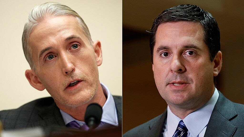 Devin Nunes tells Trey Gowdy why he believes the Mueller probe was on 'thin ice' from the start