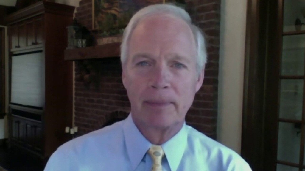 Sen. Ron Johnson wishes 'wheels of justice' would move quicker in George Floyd case