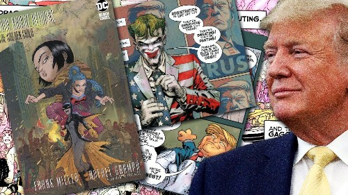 New Batman comic depicts Joker campaigning for Trump's re-election