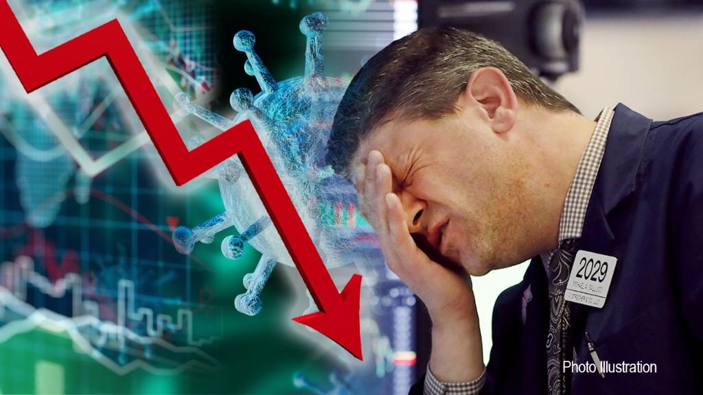 Dow sinks 710 points on coronavirus spike, global recession fears