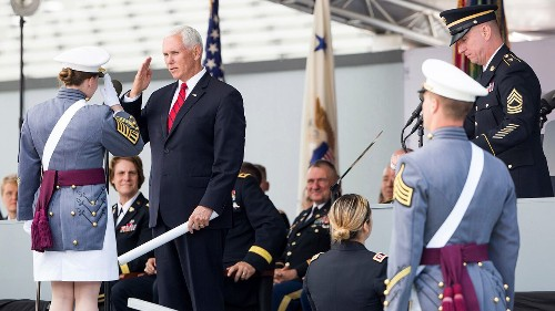 VP Pence tells West Point grads it's a 'virtual certainty' they will fight on a battlefield for America