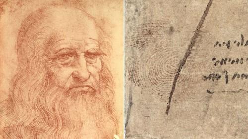 Leonardo da Vinci's thumbprint discovered: Drawing in Queen Elizabeth's collection reveals secrets