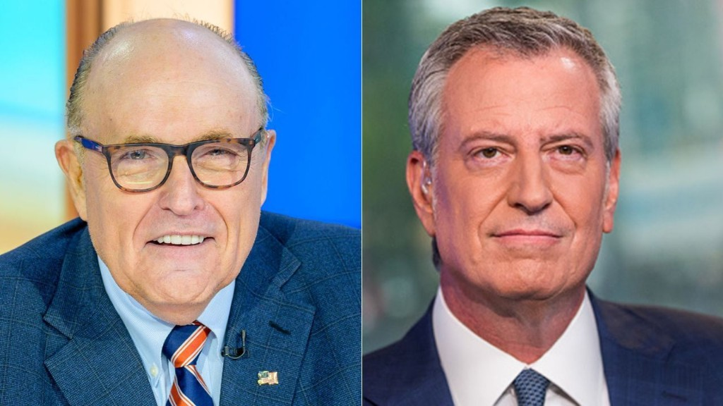Rudy Giuliani: Where is NYC Mayor Bill de Blasio?