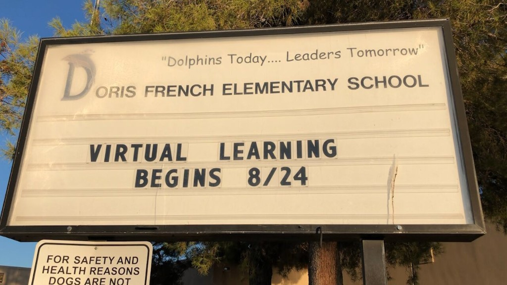 Nevada schools reopen with virtual, in-person classes amid coronavirus pandemic