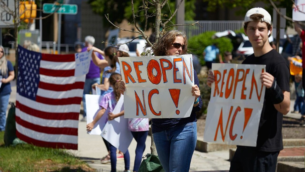 'Reopen North Carolina' rally planned despite leader testing positive for coronavirus