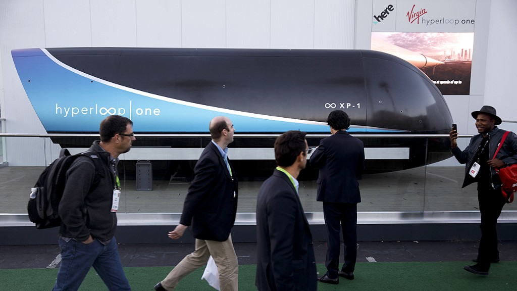 Virgin Hyperloop completes first mission in Las Vegas excursion: report