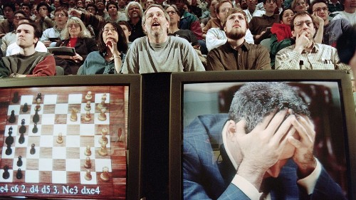 Chess master Garry Kasparov loses to computer in first of 6-game match: This Day in History