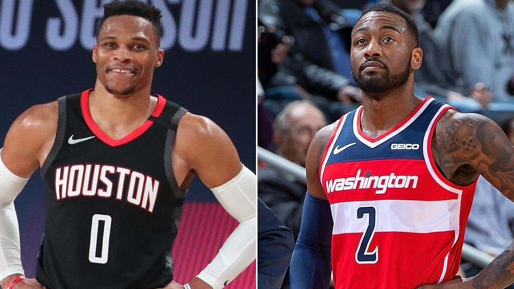 Rockets trade Russell Westbrook to Wizards in exchange for John Wall: reports