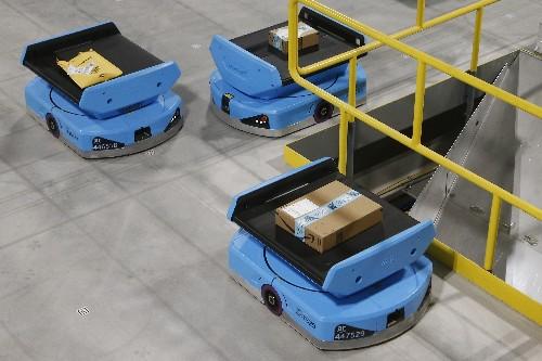 Amazon employees struggle with 'nerve-racking' robot co-workers