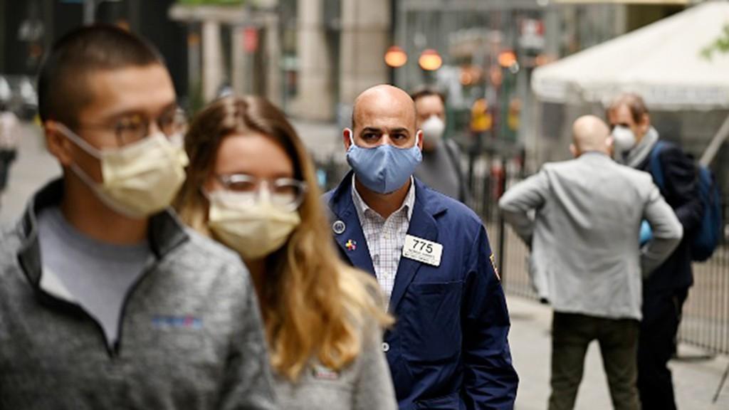 Nasdaq hits record as Amazon crosses $3K and investors look past coronavirus cases