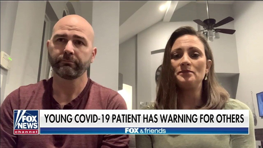Recovering COVID-19 patient warns young Americans to take virus seriously: 'I just feel lucky to be here'