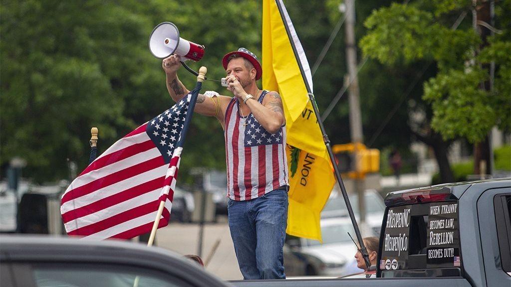 Coronavirus Memorial Day protesters planned in North Carolina, Chicago