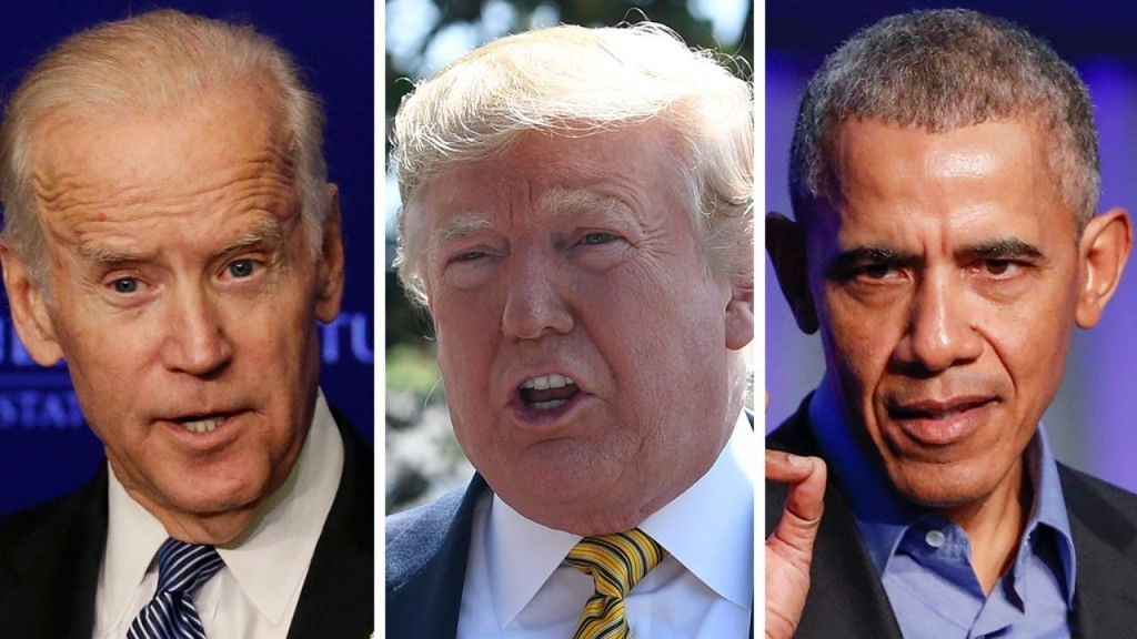 Trump: Obama may be holding off on Biden endorsement because 'he knows something you don't know'