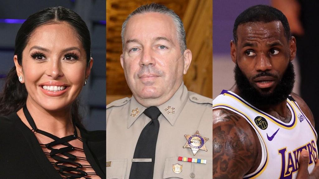 Vanessa Bryant hits back at LA County sheriff over LeBron James challenge
