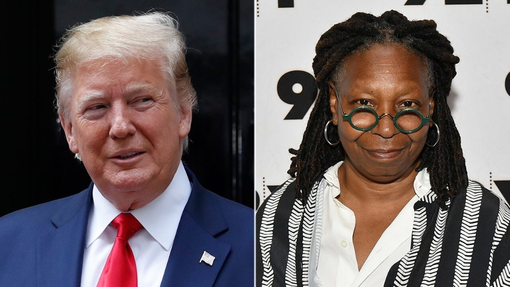 Whoopi Goldberg says Trump showed a 'lot of hubris' with guidance on reopening churches