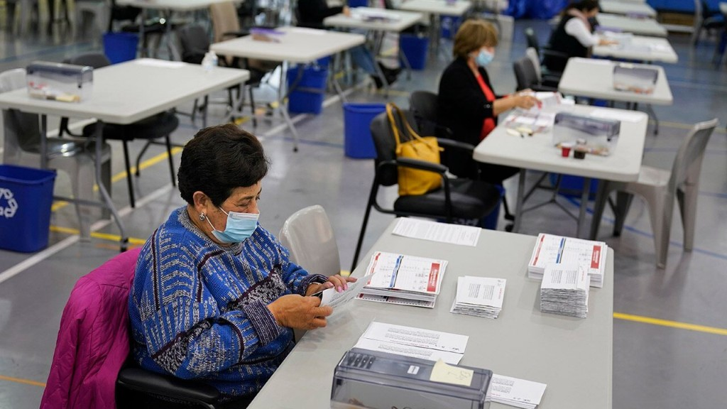 Coronavirus face masks at polls encouraged, but not required in some states